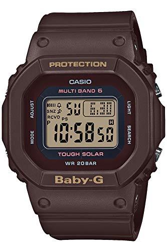 [カシオ] 腕時計 ベビージー アースカラートーン 電波ソーラー BGD-5000UET-5JF レディース ブラウン