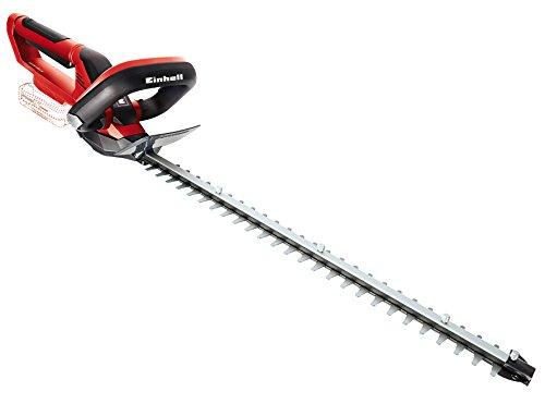 Einhell GE-CH 1855 Li Kit Accu-heggenschaar, 18 V/1500 mAh, max. 60 min looptijd, 550 mm snijlengte, 620 mm zwaardlengte, incl. PowerXChange-accu zonder accu en laadapparaat rood