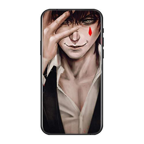 QNNN Funda para teléfono móvil Hunter X Hunter Funda para teléfono móvil Anime Cool Cosplay Disfraz iPhone XS/XR / 11/11 Pro / 11 Pro MAX, iPhone X-A_iPhone_8