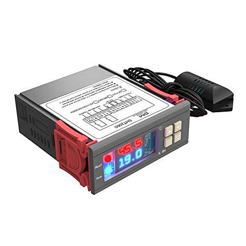diymore digitale termostato regolatore di umidità temperatura SHT2000 AC 85V-230V riscaldamento raffreddamento umidificazione deumidificante sensore ad alta precisione per scaldabagno