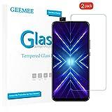 GEEMEE Schutzfolie für Huawei Honor 9X/Honor 9X Pro/Huawei P Smart Z, 2 Pack 9H Filmhärte Gehärtetem Schutzglas Hohe Empfindlichkeit Panzerglas Bildschirmschutzfolie (Transparent)