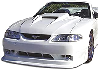 Brightt Duraflex ED-MYY-483 Cobra R Front Bumper Cover - 1 Piece Body Kit - Compatible With Mustang 1994-1998