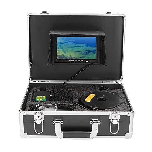 Clasken Kit de cámara subacuática, Monitor de Pesca, IP68 a Prueba de Agua para exploración submarina Actividades(European regulations)