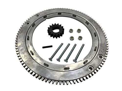 ENGINERUN 696537 Schwungrad Ring, kompatibel mit Briggs und Stratton 399676 392134 Ref Oregon 31-056
