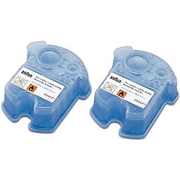 ブラウン(BRAUN) BRAUN(ブラウン) クリーン&リニュー専用 洗浄液カートリッジ CCR2CR 2個入 家電 生活家電 シェーバー [並行輸入品]