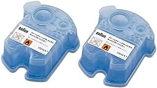 BRAUN(ブラウン) クリーン&リニュー専用 洗浄液カートリッジ CCR2CR 2個入 家電 生活家電 シェーバー [並行輸入品]