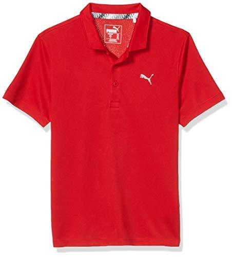 PUMA Golf 2019 Jungen Polo, Jungen, Polo, 2019 Polo, Barbados Kirsche, X-Large