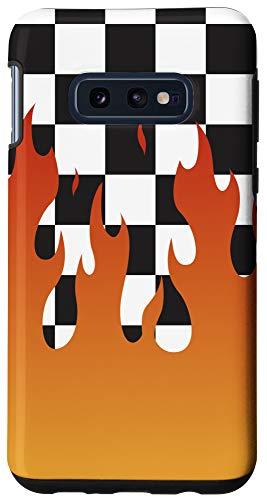 Galaxy S10e Checkered Flame Case