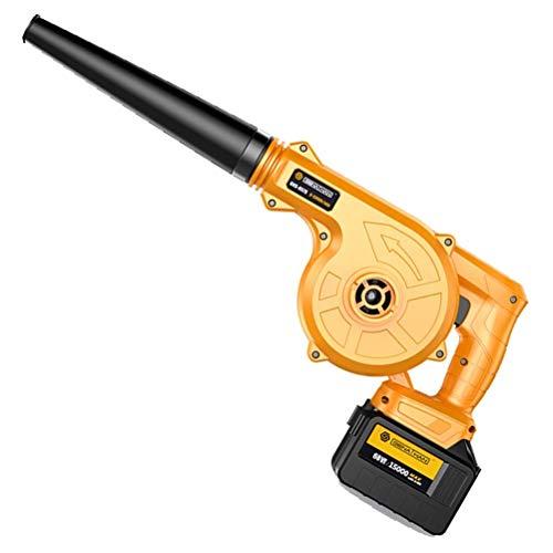 Conveniente soplador de Hojas eléctrico 2 en 1, soplador inalámbrico y aspiradora para Limpiar el Pelo de Mascotas, automóviles, Muebles, talleres, Varias Esquinas, etc.