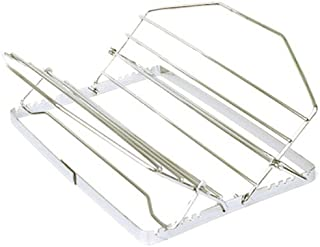 Norpro 275 Adjustable Roast Rack Nickel-plated, 11 inches, Silver