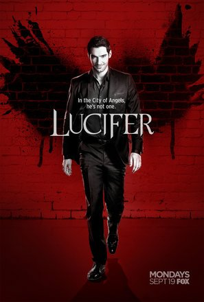 Import Posters Lucifer – U.S TV Series Movie Wall Poster Print - 30CM X 43CM