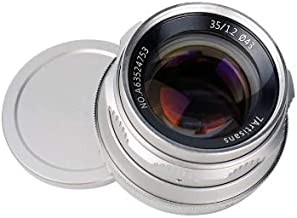 7artisans Photoelectric 35mm f/1.2 Lens for Canon EF-M Mount - Silver