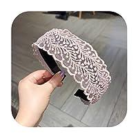 睿ちゃんレースヘアフープ女性韓国髪圧力ベゼルヘッドバンドファッション春夏新しい帽子ヘアアクセサリー-dd-