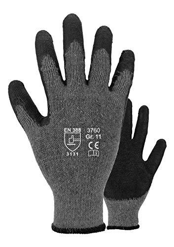 ASATEX Latex-Handschuh 3760, grau, Gr. 9 (12 Paar)