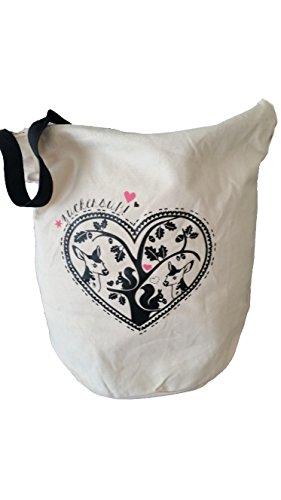 Adelheid Damen Shopper Tasche Handtasche Beuteltasche ZUCKERSÜSS beige