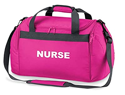 Nurse Pink Holdall Carry Bag for Paramedics, First Responders, Ambulance, St John and Medics by