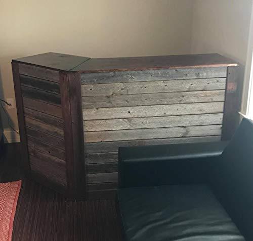 Wandverkleidung aus recyceltem Scheunenholz, Dielen für Akzentwände (1 Quadratfuß) - 9