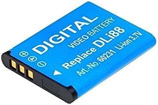 Batería de repuesto de Blumax D-Li88Power Pack para cámaras Pentax Optio H90P70P80W90WS80