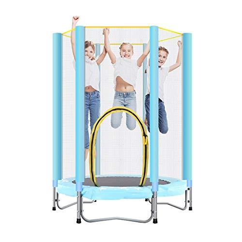 Trampoline kinderen indoor met net Bounce bed gym trampoline kinderen bontgekleurde trampoline kinderen cadeau