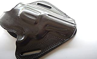 cal38 Handcrafted Leather Belt Holster for Smith Wesson Model 60-10 with 3