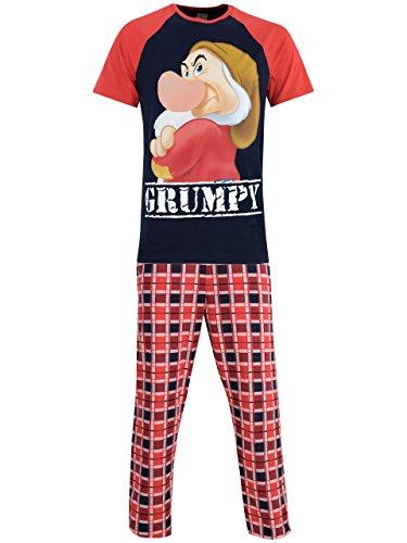Disney Grincheux - Ensembles De Pyjama - Grumpy - Homme, Multicolore, M