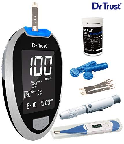 Dr Trust (USA) Fully Automatic Blood Sugar Testing...