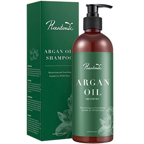 Organic Moroccan Argan Oil Shampoo & Conditioner Set 16 Oz - Enhancing & Volumizing &...