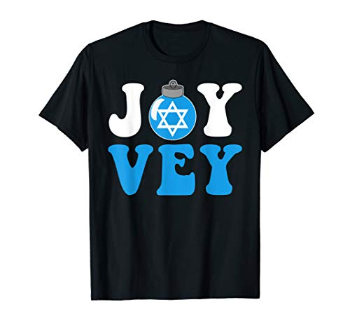Joy Vey Hanukkah Bush Ornament Tee
