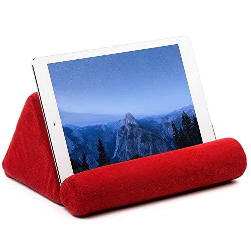 Urben Life tablethouder kussenstandaard tabletkussen, boekenhouder telefoonstandaard, tablethouder staander voor bed, bank, auto, tafel, compatibel met Ereader/Tablet / mobiele telefoon
