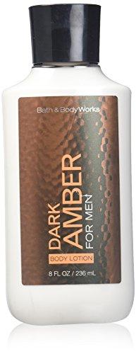 Bath & Body Works Dark Amber for Men 8.0 oz Body Lotion