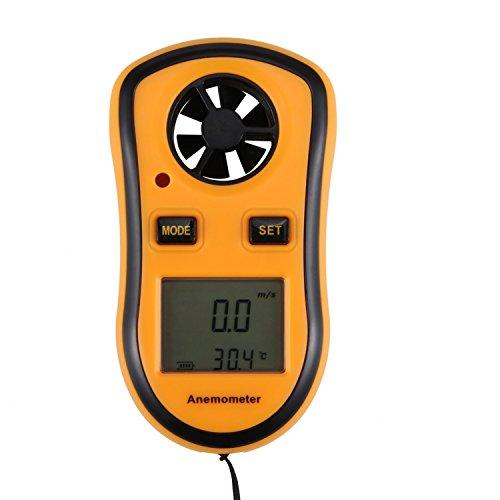 Feililong LCD Digitale Anemometer Handheld High-Accuracy Windmesser - Anemometer Messunsicherheit Tragbar Windmessgerät