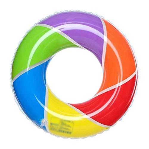Gcxzb Schwimmreifen Pool Aufblasbarer Ring Schwimmenring Kinder Kreativer Rettungsring Ringbuoy Erwachsener Nette Mode Outdoor Sport Baby Schwimmen Ring Float (Size : 90)