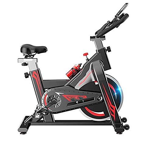 Bicicletas en posición vertical silencioso ejercicio, aptitud estacionario Exercize de bicicletas, deportes de interior bicicleta de pedales, aparatos de gimnasia, aeróbic, asa regulable, resistencia