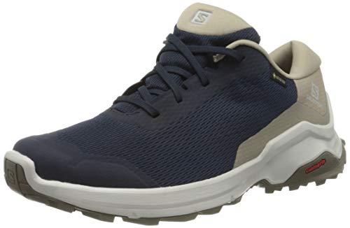 Salomon X Reveal GTX, Zapatillas de Senderismo Hombre, Azul (Navy Blazer/Vintage Kaki/Bungee Cord), 43 1/3 EU