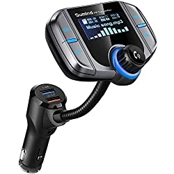 top 10 mp3 in car (Updated version) Remember the Bluetooth car FM transmitter, wireless adapter, hands-free kit …