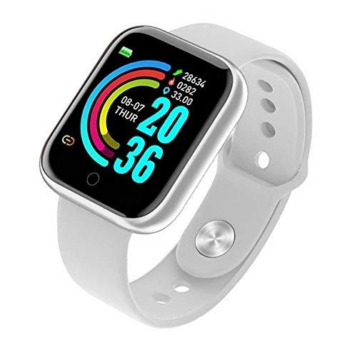 Smartwatch Y68/D20 Relógio Inteligente Android/iOs Branco