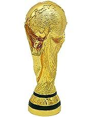 Voetbaltrofee, Wereldbeker voetbal Hercules Golden Cup trofee van harskopie, collectie sportfans en souvenirs voor sportgames, woninginrichting