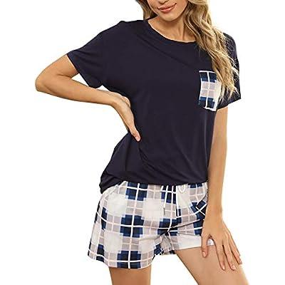 Amazon - 60% Off on pcs Womens Tie Dye Printed Ruffle Pajama Sets Lounger Sleep Leisure Wear