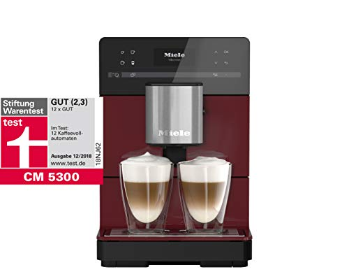 Miele Stand–Cafetera automática, 0.2kg Brombeerrot