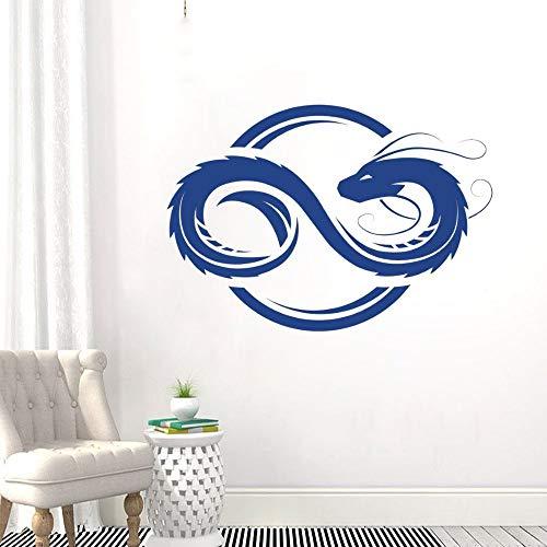 Zdklfm69 Adhesivos Pared Pegatinas de Pared Diseño de calcomanía estética hogar Dormitorio y habitación de Hotel decoración Vinilo extraíble 114x82cm
