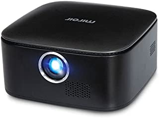 Miroir M75 Portable Projector, Grey, 50 Inch Picture, 1080P Supported, Home / Outdoor Entertainment, Rechargeable Battery,...