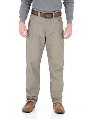 Wrangler Riggs Workwear Men's Technician Ripstop Pant, dark khaki, 36x32 (Riggs Utility Jeans)