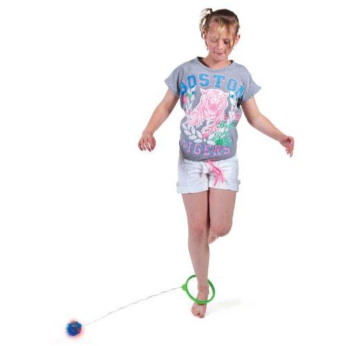 Tobar Flashing Skip Ball  Boule  Faire tourner autour de la cheville