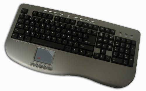 Adesso Win-Touch Pro USB Keyboard with Wristsaver (AKB-430UG)