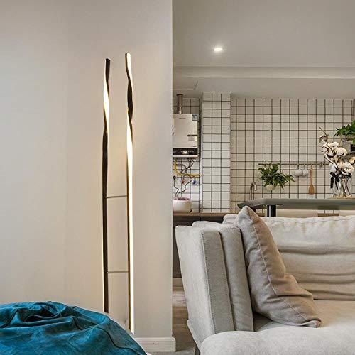 Staande lamp minimalistisch woonkamer studie verticale vloerlamp eenvoudige moderne LED Scandinavische slaapkamer nachtkastje sfeerlicht 1 exemplaar