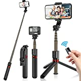 Best Selfie Sticks - Bluetooth Selfie Stick, MYETHEOD 4 in 1 Expandable Review