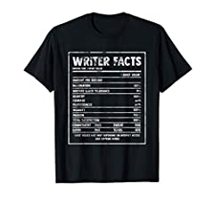 When it comes to writing or reading themed top, this one is the best choice. It has slogan saying or quotes about a novelist which makes it a great gift idea for any book reader journalist editor bookish bookworm nerd or bookaholic on birthday or Chr...