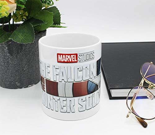 Taza de Marvel – Falcon & the Winter Soldier Logo