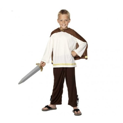 Curriculum - Disfraz de vikingo para nio, talla S