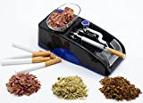 H-B-X7 Electric Cigarette Rolling Automatic Roller Maker/Herbal Cigarettes Rolling Machine/Mini Machine/Injector Machine/Portable Household Electric Cigarette Rolling Machine(Blue)